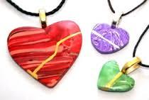 small kintsugi hearts